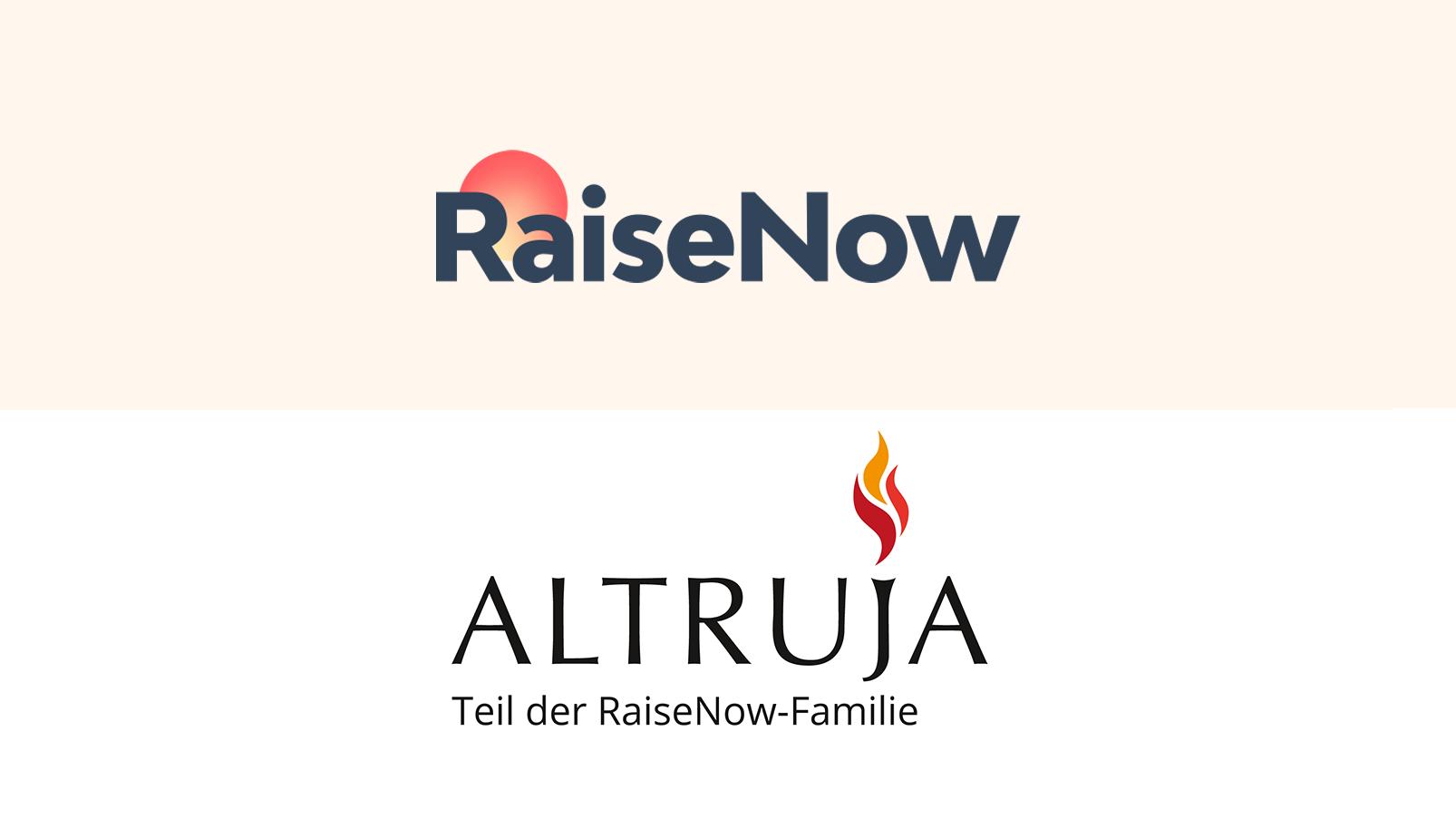Altruja ist jetzt Teil der RaiseNow-Familie!