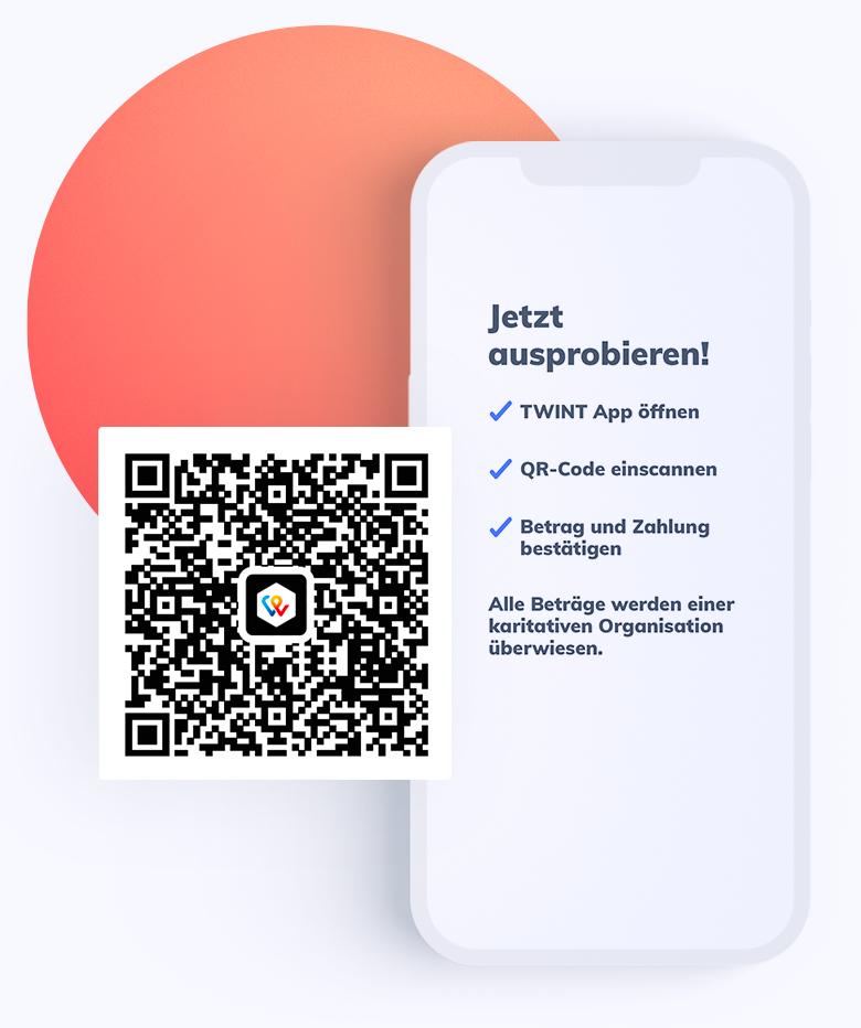 Jetzt TWINT QR Pay ausprobieren!