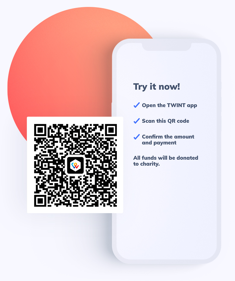 Try out TWINT QR Pay now!